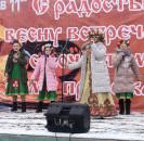 Мечетлинцы проводили зиму веселой Масленицей