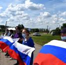 В День России на улицах села Большеустьикинское  прошли праздничные концерты