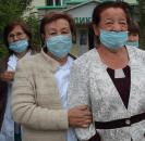 В Мечетлинском районе выразили благодарность медицинским работникам