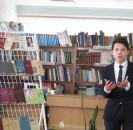 12 марта в центральной районной библиотеке прошел районный конкурс чтецов «Слово поэта свободы» по произведениям Мусы Джалиля.