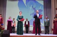 Сегодня в районном Доме культуры состоялся зрелищный праздничный концерт в честь Дня Республики