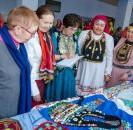 12 апреля в Районном Доме культуры прошел конкурс национального костюма «Наследие веков».