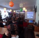 7 февраля с учащимися 9-х классов лицея №1 в Центральной модельной детской библиотеке прошел литературный урок-беседа «Яктыга эйзэусе эзибэ», посвященный 110-летию со дня рождения народной писательницы Башкортостана Зайнаб Абдулловны Биишевой.