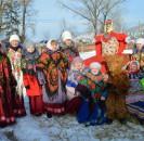 В минувшее воскресенье  в селе Малоустьикинское на площади сельского клуба состоялся районный праздник «Сударыня наша масленица», собравший  немало зрителей