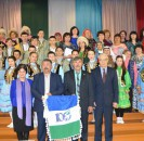 7 апреля с дружеским визитом коллектив художественной самодеятельности  Новояушевского сельского поселения посетил Лемезтамаковский сельский клуб.