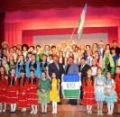 С  очередным концертом в фестивальном марафоне «Пою тебя, мой край родной!» выступили самодеятельные артисты Лемезтамакского сельского поселения в Алегазовском сельском клубе.