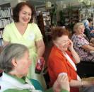 6 июля, накануне Дня семьи, любви и верности в Центральной библиотеке прошёл вечер отдыха «На что клад, коли в семье лад», с участницами клуба «Берегиня».