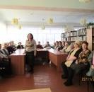 22 ноября в читальном зале Центральной библиотеки было многолюдно – участники клуба «Берегиня» пришли на музыкально-досуговый вечер ретро-песни «Любимые песни», посвящённый Дню матери.