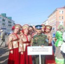 В межрегиональном фестивале «Казачий спас» принял участие народный ансамбль русской песни «Елань»