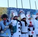 14 декабря на центральной площади с. Большеустьикинское состоялось торжественное открытие главной районной ёлки.