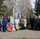 26 апреля, в день 33-ти летия со Дня аварии на Чернобыльской атомной электростанции. в Центральной районной библиотеке прошла встреча с участниками ликвидации радиационной катастрофы и вдовами, посвященная
