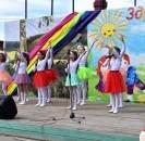 На один день центральная площадь районного центра  превратилась в детский мир.