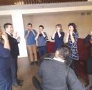 В районном Доме культуры прошел семинар-практикум по игре на кубызе