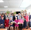 Сегодня, 8 июля, в Центральной районной библиотеке с. Большеустьикинское прошло чествование крепких и сложившихся семейных пар, проживших в браке 50 и более лет.