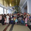 В преддверии Нового года в районном Доме культуры прошел новогодний утренник для детей с ограниченными возможностями.