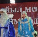 В новогоднюю ночь сотни мечетлинцев вышли на центральную площадь с.Большеустьикинское в ожидании праздничного салюта.