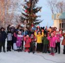 4 января в сельских клубах прошел праздник зимних забав и развлечений «Зимних сказок волшебство» на свежем воздухе.