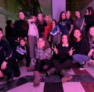 3 января в Районном доме культуры прошла новогодняя молодёжная дискотека «Vine-online».